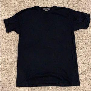 Banana Republic Ribbed Crew Neck Men's T-shirt L